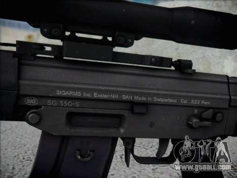 Sniper Rifle HD for GTA San Andreas third screenshot