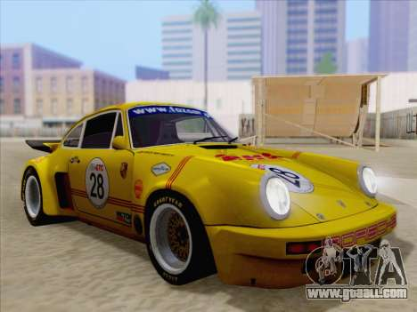 Porsche 911 RSR 3.3 skinpack 1 for GTA San Andreas wheels