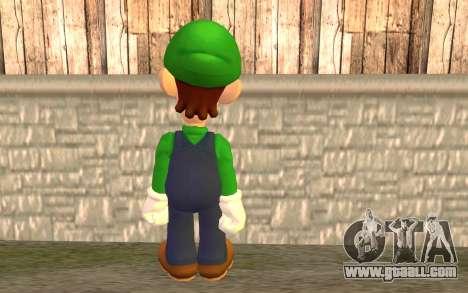 Luigi for GTA San Andreas second screenshot