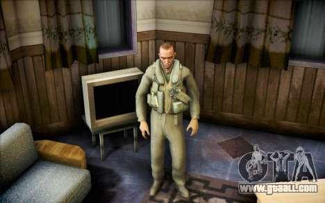 Nicholas of Call of Duty MW2 for GTA San Andreas second screenshot