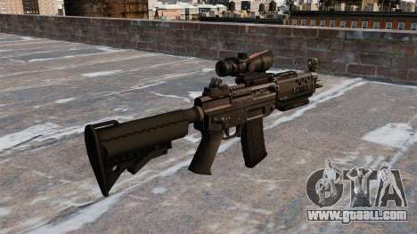 The SIG 552 assault rifle for GTA 4 second screenshot