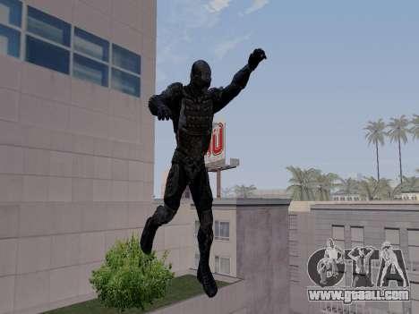 Korean Nano-suit of Crysis for GTA San Andreas forth screenshot