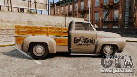 Hot Rod Truck Gas Monkey v2.0 for GTA 4 left view