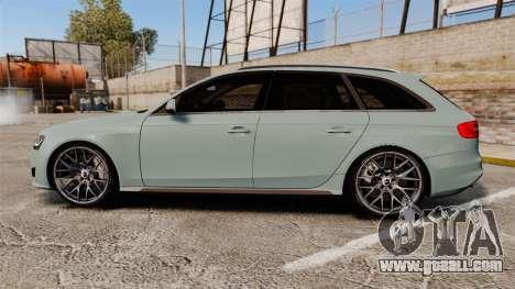 Audi RS4 Avant for GTA 4 left view