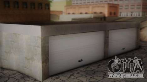 Garage in Dorothy for GTA San Andreas second screenshot