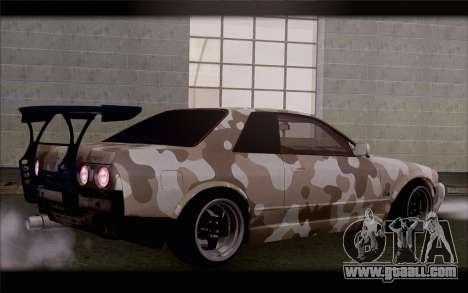Nissan Skyline GTS Drift Spec for GTA San Andreas left view