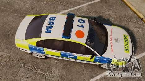 Skoda Superb 2006 Police [ELS] Whelen Edge for GTA 4 right view