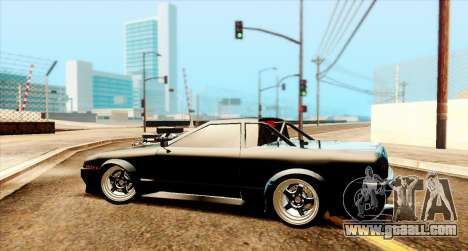 Elegy pickup v2.0 for GTA San Andreas back left view