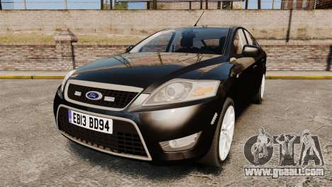 Ford Mondeo Unmarked Police [ELS] for GTA 4