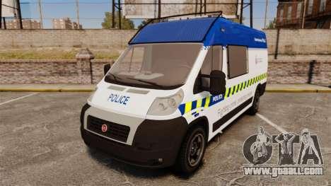 Fiat Ducato Manchester Police [ELS] for GTA 4