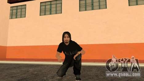 High-Quality Skin STAFF for GTA San Andreas seventh screenshot