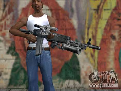 AK-47 from a Stalker for GTA San Andreas third screenshot