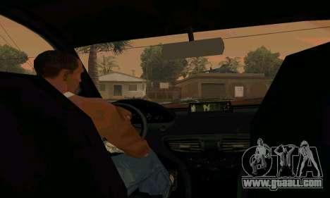 Presidente of GTA IV for GTA San Andreas right view