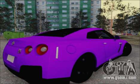 Nissan GT-R Spec V for GTA San Andreas right view