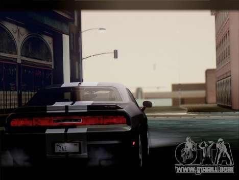 Dodge Challenger SRT8 2012 HEMI for GTA San Andreas right view