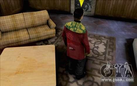 Asian guy for GTA San Andreas second screenshot