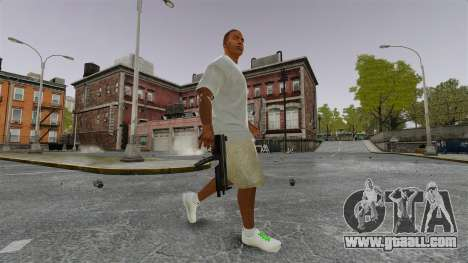 Franklin Clinton v3 for GTA 4 forth screenshot