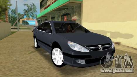 Peugeot 607 V6 for GTA Vice City