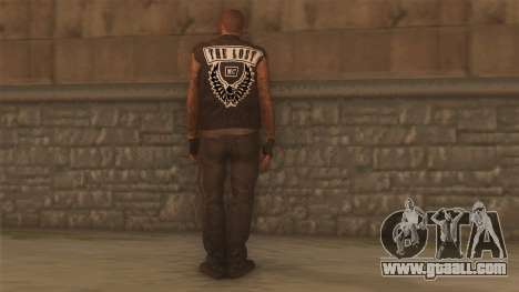 Biker v2 for GTA San Andreas second screenshot