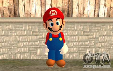 Mario for GTA San Andreas