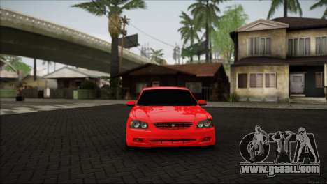 Hyundai Accent for GTA San Andreas back left view