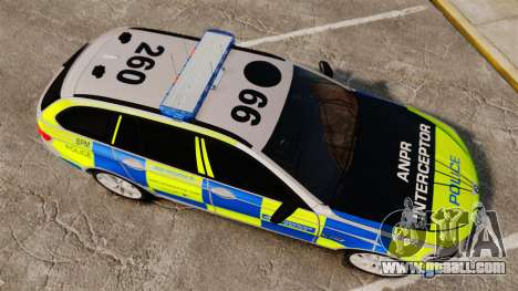 BMW 550d Touring Metropolitan Police [ELS] for GTA 4 right view