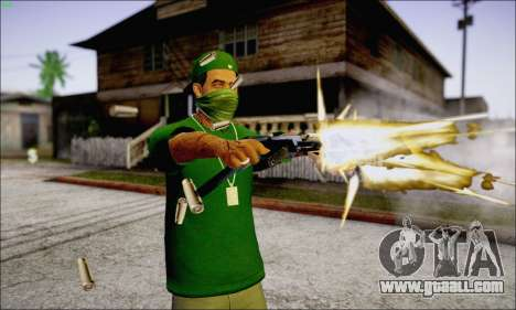 Lamar Davis GTA V for GTA San Andreas