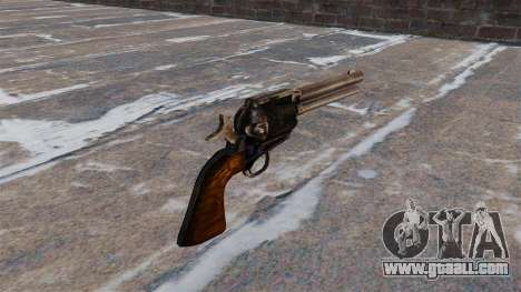 Revolver Colt Peacemaker for GTA 4 second screenshot