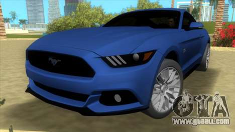 Ford Mustang GT 2015 for GTA Vice City