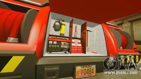 Pro Track SR2 Firetruck [ELS] for GTA 4 side view