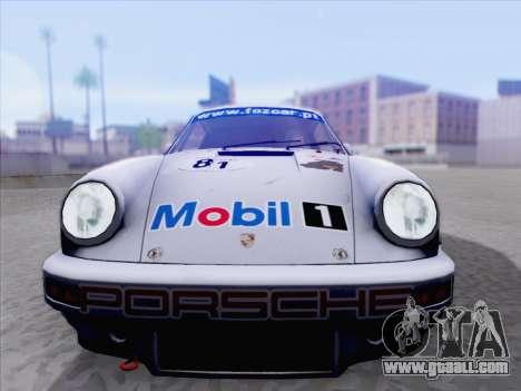 Porsche 911 RSR 3.3 skinpack 1 for GTA San Andreas back left view