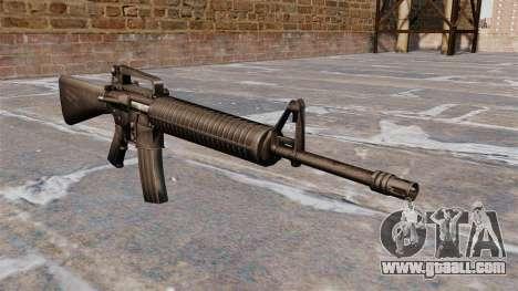 Semi-automatic AR-15 rifle Armlite for GTA 4