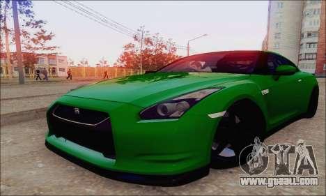 Nissan GT-R Spec V for GTA San Andreas