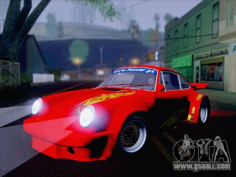 Porsche 911 RSR 3.3 skinpack 6 for GTA San Andreas right view