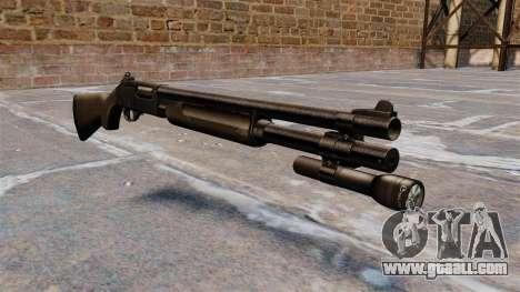 Pump-action shotgun Remington 870 Wingmaster for GTA 4