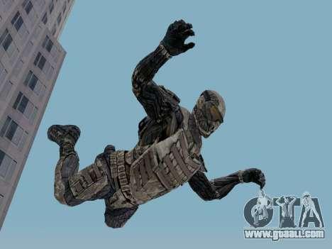 Korean Nano-suit of Crysis for GTA San Andreas third screenshot
