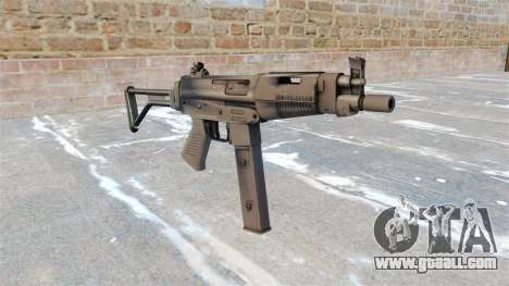 Taurus submachine gun MT-40 for GTA 4
