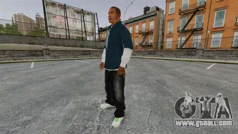 Clinton Franklin for GTA 4 third screenshot