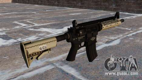 Automatic carbine M4 VLTOR for GTA 4 second screenshot