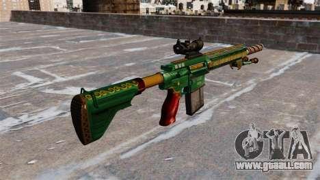HK417 rifle for GTA 4 second screenshot