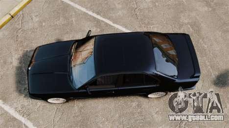 BMW M5 E34 for GTA 4 right view