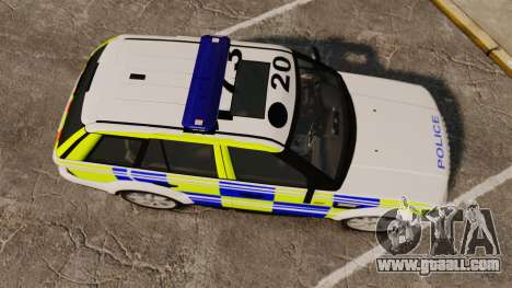 Range Rover Sport Metropolitan Police [ELS] for GTA 4 right view