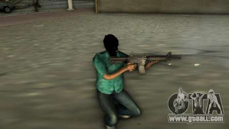M4 Carbine for GTA Vice City second screenshot
