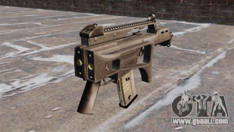 HK G36C assault rifle for GTA 4 second screenshot