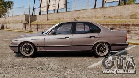 BMW M5 E34 for GTA 4 left view