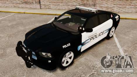 Dodge Charger RT 2012 Police [ELS] for GTA 4 inner view