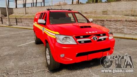 Toyota Hilux FDNY [ELS] for GTA 4