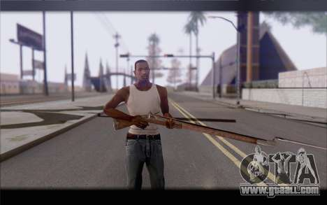 Musket for GTA San Andreas third screenshot