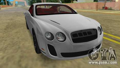 Bentley Continental Extremesports for GTA Vice City