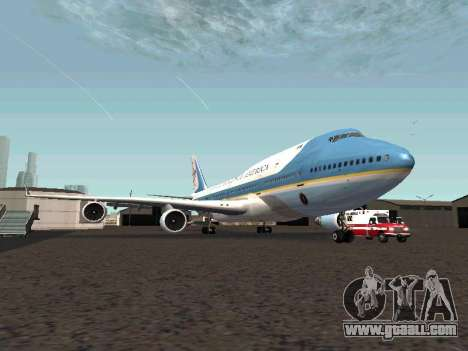 Boeing-747-400 Airforce one for GTA San Andreas